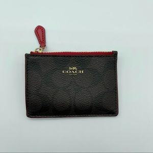Coach card/ coin case